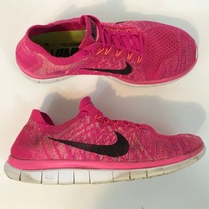 NIKE FREE 4.0 Flyknit Running Shoes Womens 9.5 M